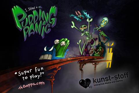 Escapa del tren fantasma en Pudding Panic 2