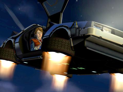 Primeras imágenes de Back to the Future el videojuego 1