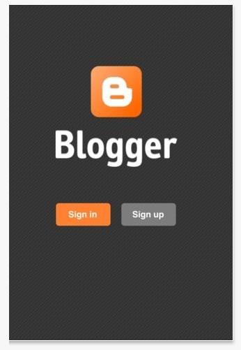 Google lanza aplicación oficial de Blogger para iOS y actualización para Google+ 9