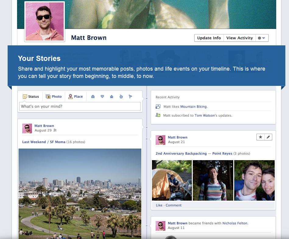 Facebook renueva la forma de ver nuestros perfiles
