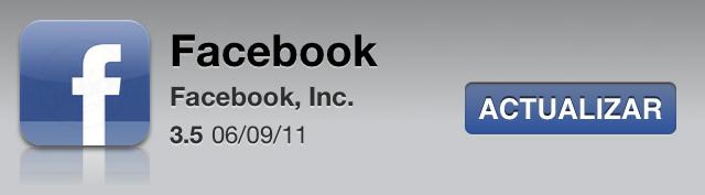 Descarga Facebook 3.5 para iPhone 7
