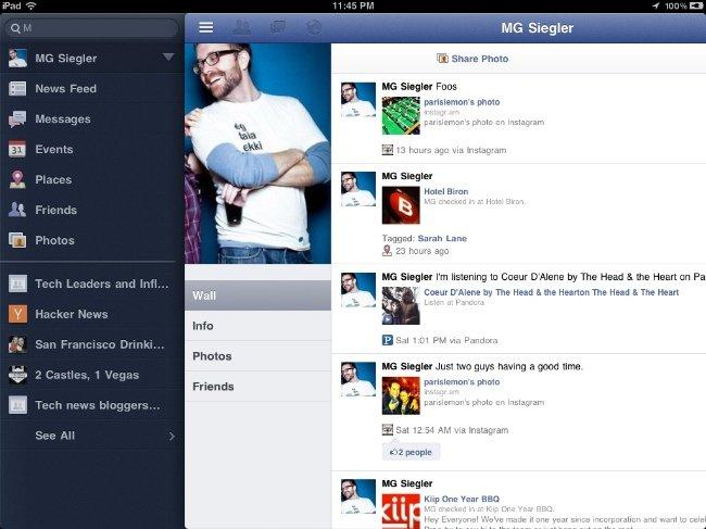 Aplicación de Facebook para iPad, podría ser presentada el próximo 4 de octubre 1