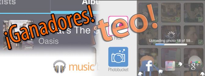 Ganadores de los sorteos de Google Plus Photo Importer y Google Music 1