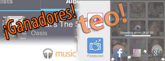 Ganadores de los sorteos de Google Plus Photo Importer y Google Music 1