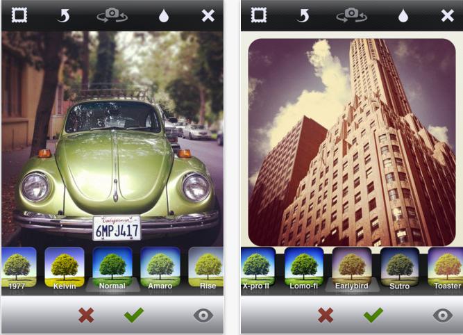 Instagram se actualiza a la versión 1.0.7 1