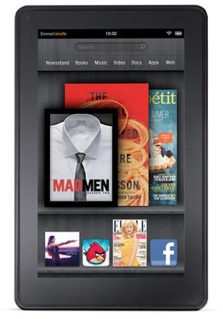 Amazon presentó su esperada tableta Kindle Fire ¿competencia para el iPad? 3