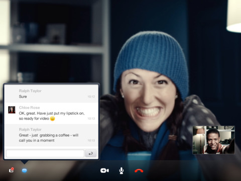 Skype for Business llega a iOS 2