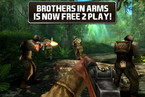 Descarga Brothers in Arms 2 para iPhone gratis 7