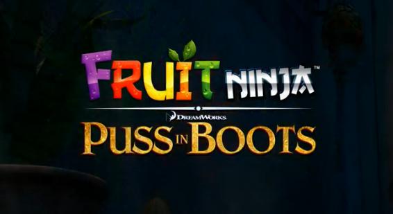 Nuevo juego de Fruit Ninja en compañía del Gato con Botas