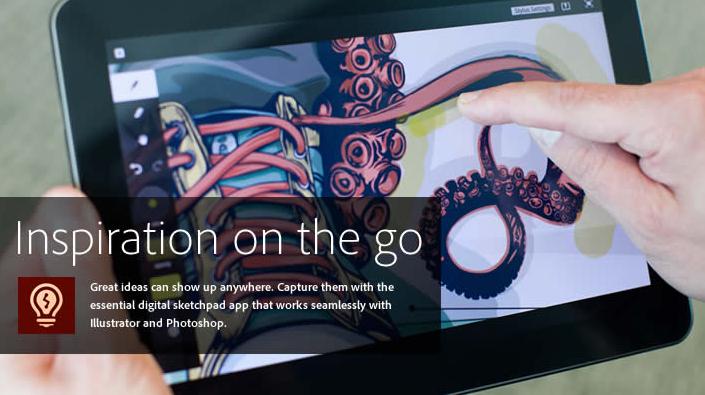 Adobe presenta 6 aplicaciones para dispositivos iOS 5