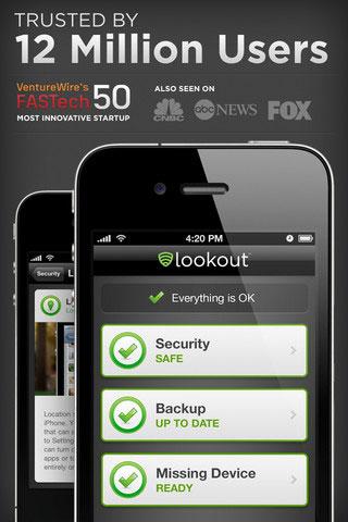 Lookout, una alternativa o un refuerzo a iCloud 4