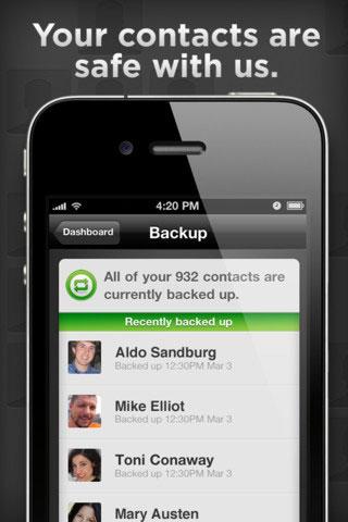 Lookout, una alternativa o un refuerzo a iCloud 5