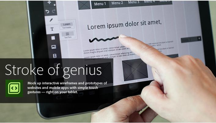 Adobe presenta 6 aplicaciones para dispositivos iOS 7