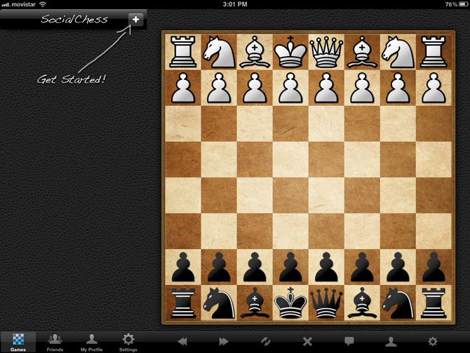 Ajedrez online para iPad y iPhone con Social Chess 7