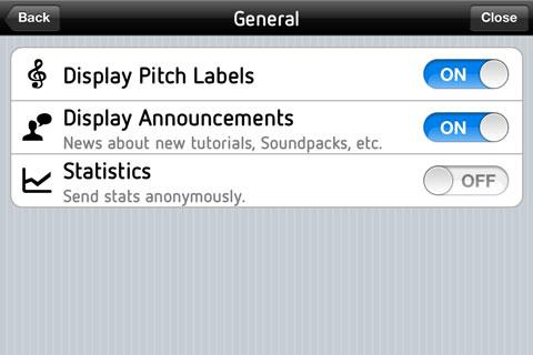 Haz música en tu iPhone con SoundPrism. 8