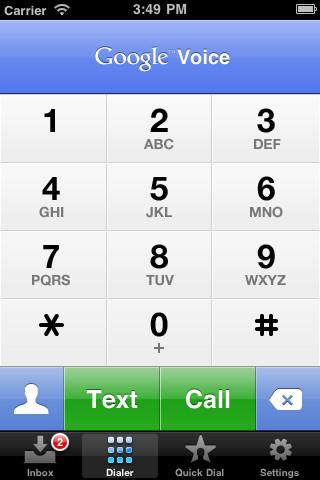Apple frena la entrada de Google Voice al iPhone 2
