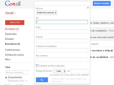 Gmail Offline desde Google Chrome 5