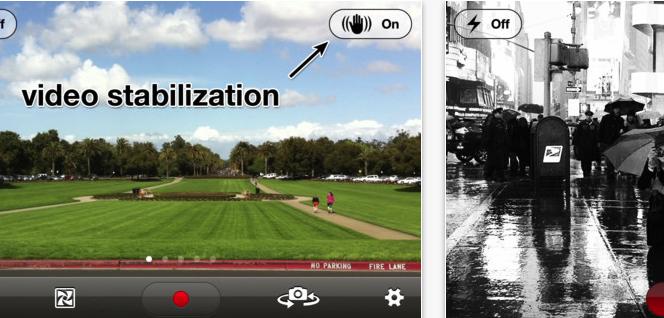 LUMA: Una aplicación para estabilizar video en iOS + Filtros en tiempo real