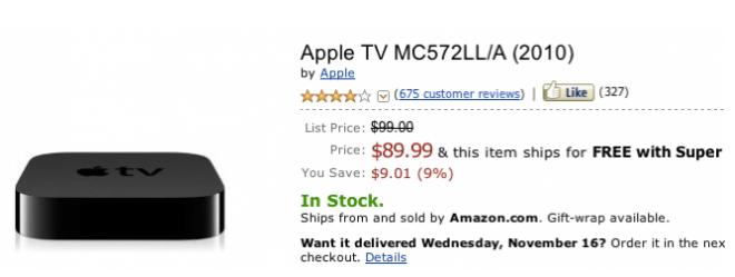 Apple TV 2G reduce su precio en Amazon y BestBuy 1