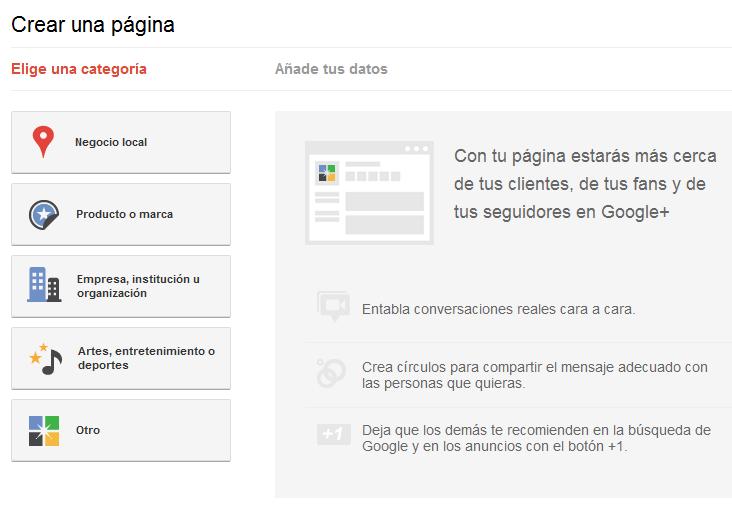 Google+ para marcas ya está disponible 2