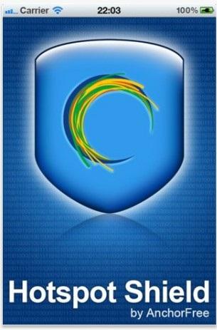 Descarga Hotspot Shield VPN para iPhone, iPad e iPod Touch