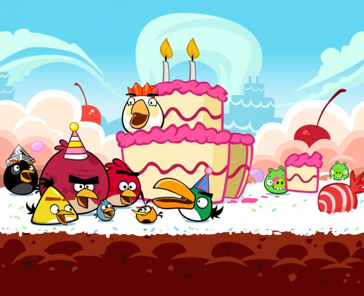 Angry Birds cumple 2 años y ellos traen los regalos 8