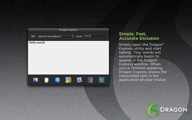 Dragon Express, un adelanto de como sería Siri en el Mac 3
