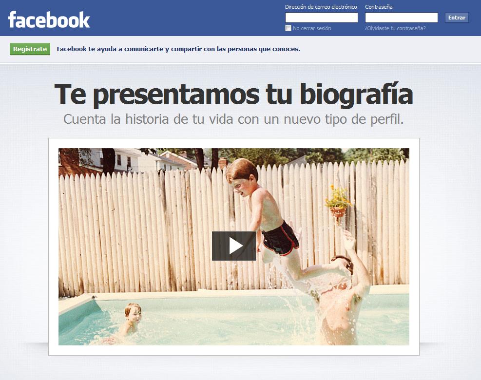 Facebook comienza a activar su nueva interfaz Timeline 1