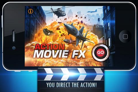 Descarga Action Movie FX, efectos de película en tu iPhone e iPad 2