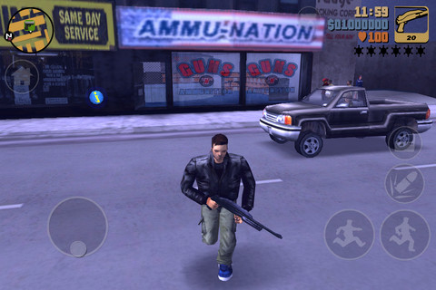 Descarga Grand Theft Auto 3 para iPhone 4, iPad e iPod Touch 1