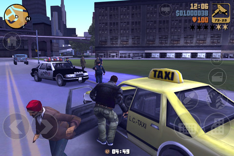 Descarga Grand Theft Auto 3 para iPhone 4, iPad e iPod Touch 3