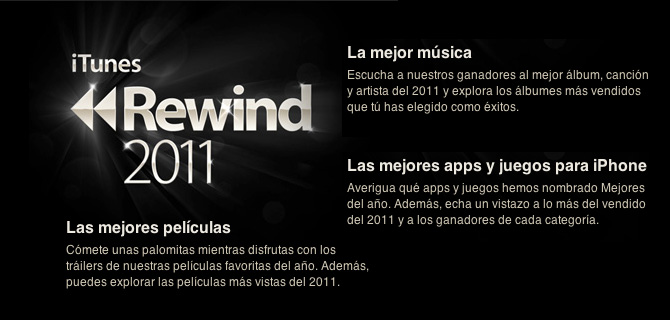 Las mejores apps, juegos, música y películas del 2011 en la App Store 1
