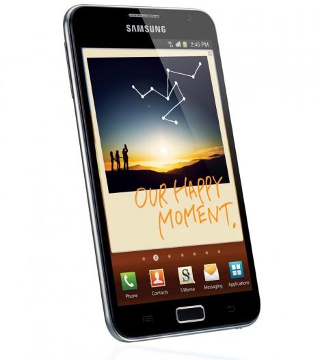 Samsung llega al millón de unidades vendidas con el Galaxy Note 1