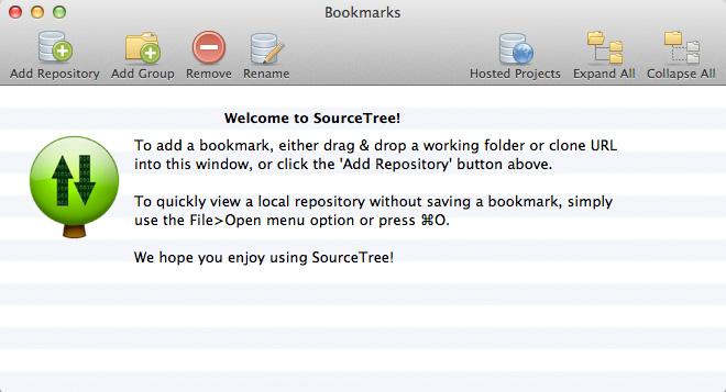 Git y Hg para Mac OS X con SourceTree 1