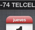 Como poder ver el nivel de señal de tu red celular en números en iPhone 4