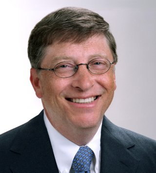 Bill Gates vestido de Harry Potter 3