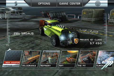 Descarga gratuitamente y por tiempo limitado Death Rally, para iPhone, iPad e iPod 10