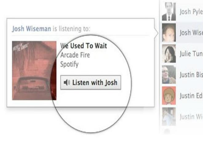 Comparte música en tiempo real con sus amigos desde el chat de Facebook 2