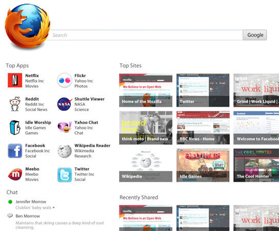 Mozilla sigue trabajando y nos presenta Firefox 7.0.1 y Firefox 8 beta 4