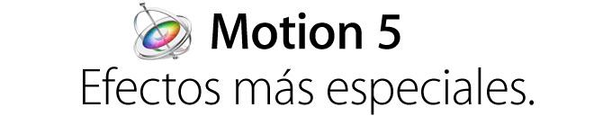 Apple presenta Motion 2 1