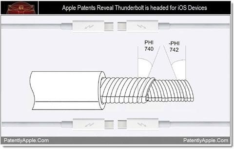 Patentes de Apple indican que los puertos Thunderbolt podrían llegar a los dispositivos iOS 3
