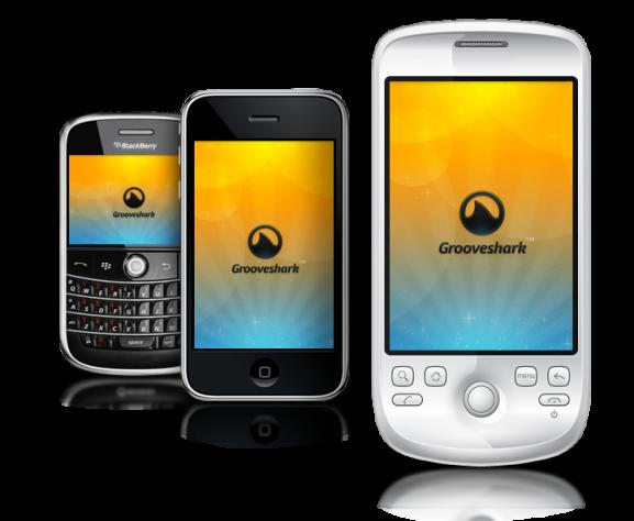Grooveshark lanza su aplicación en HTML5 para iPad e iPhone 2