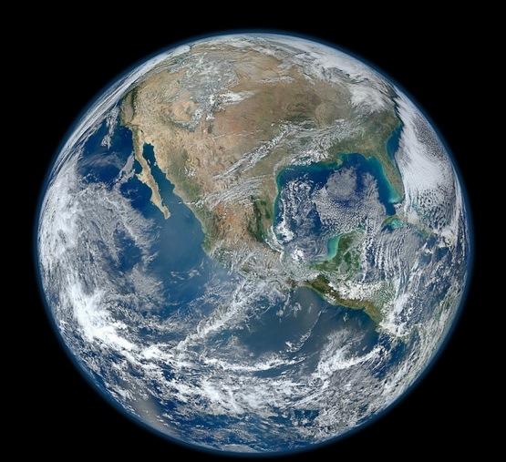Blue Marble 2012: La fotografía mas impresionante de nuestro planeta hasta ahora 2