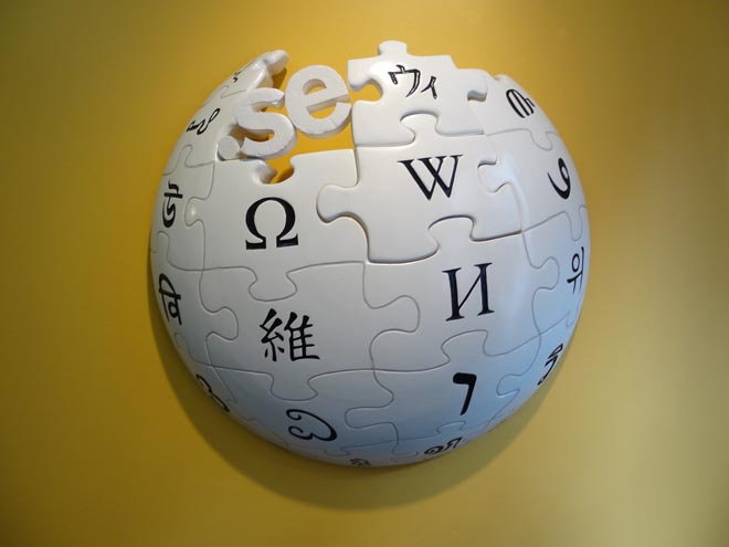 Descarga Wikipedia en un torrent de 10GB 7