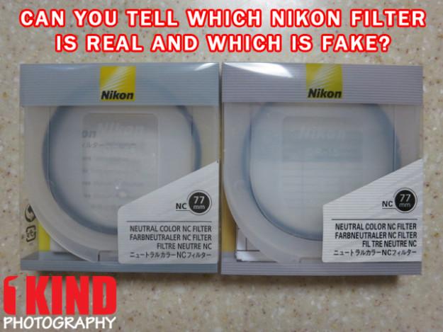 Filtro Nikon original