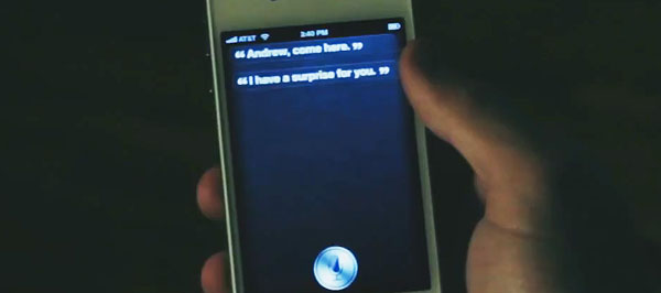 El asistente virtual de voz de Apple, es protagonista en el corto Psycho Siri 2