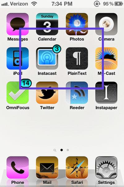 Organiza la pantalla de tu iPhone para que sea mas cómoda y tú mas productivo 3