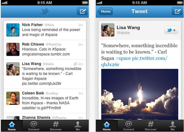Descarga Twitter para iOS, versión 4.2 5