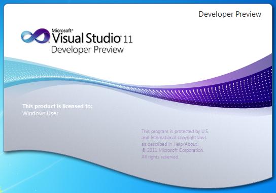 Beta de Visual Studio 11 llegara el 29 de febrero 1