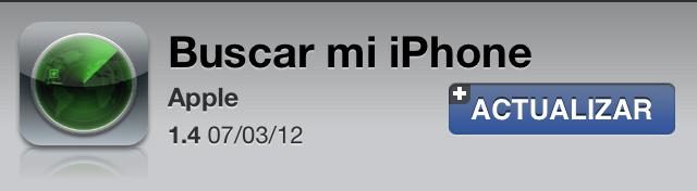 Buscar mi iPhone 1.4 compatible con pantallas Retina y más estable 1